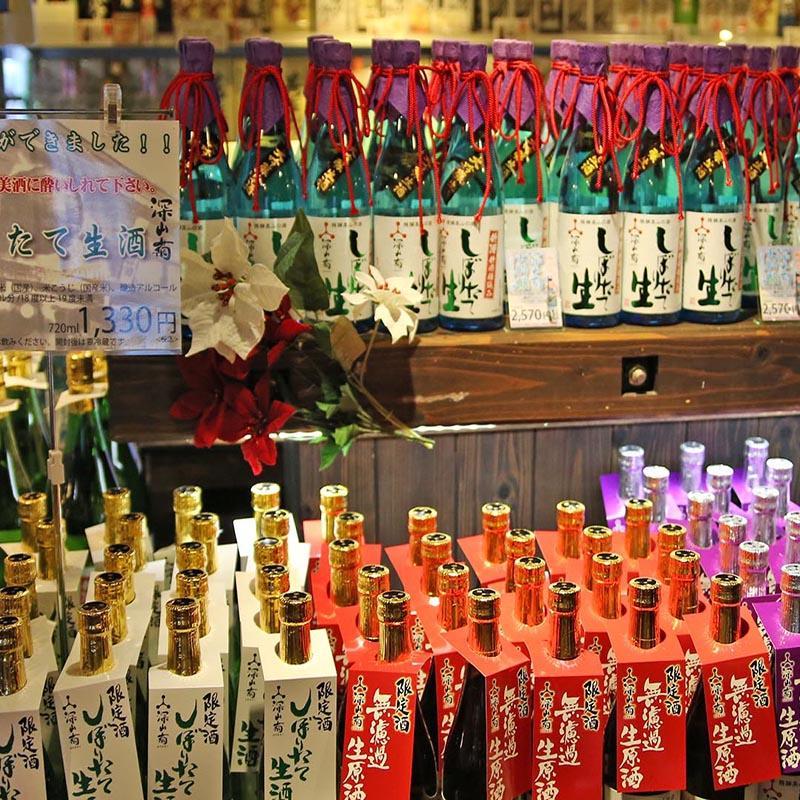 Funasaka Sake Brewery: Aiming to be a sake theme park in Takayama.