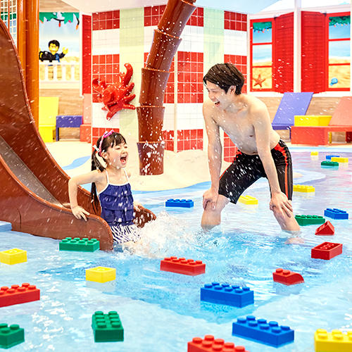 LEGOLAND Japan hotel water play area