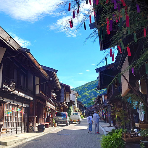 Naraijuku: Enjoy the old streetscape in this post town located between Edo and Kyoto