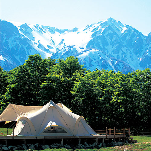Five Luxury Camping Sites in Central Japan